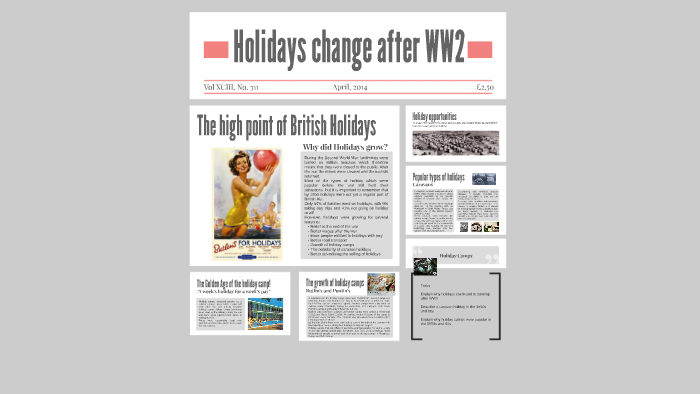 Holidays change after WW2 by Mrs Corken on Prezi
