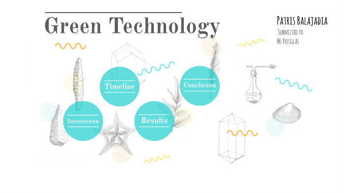 conclusion of green technology