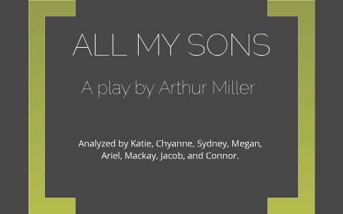 chris keller all my sons character analysis