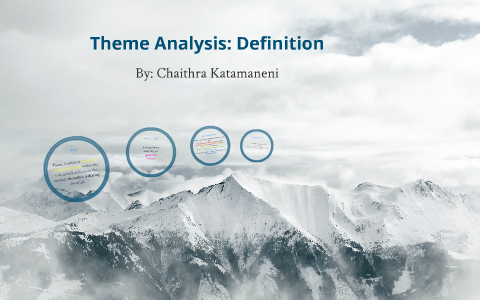 definition of theme analysis