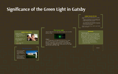 what is the significance of the green light