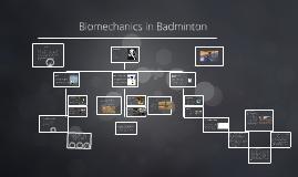 Biomechanics In Badminton By Ashley Bartlett