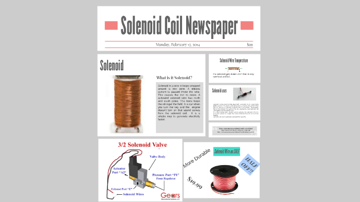 Solenoid Newspaper by River King on Prezi
