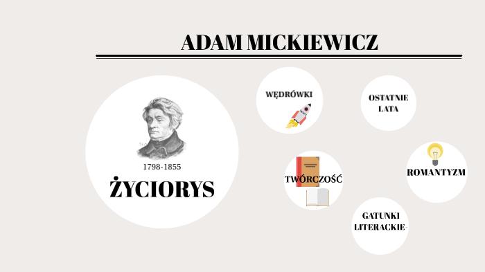 Adam Mickiewicz By Ola Adamczyk On Prezi Next
