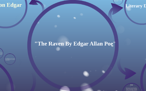 the raven summary by stanza