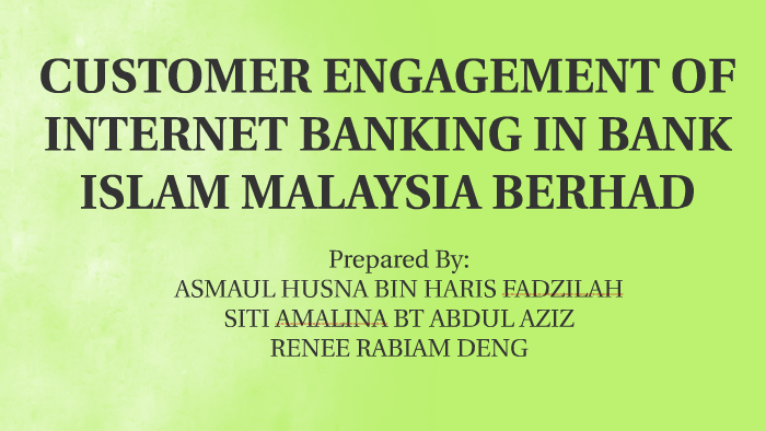 bank islam internet banking login