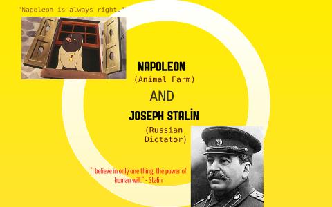 how is napoleon like stalin