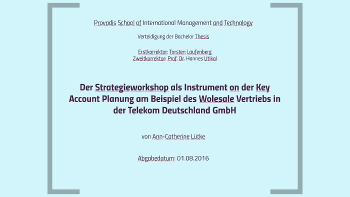 bachelor thesis zweitkorrektor
