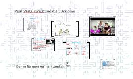 5 Axiome Watzlawick Kommunikationsmodell Axiom Mit Video 2