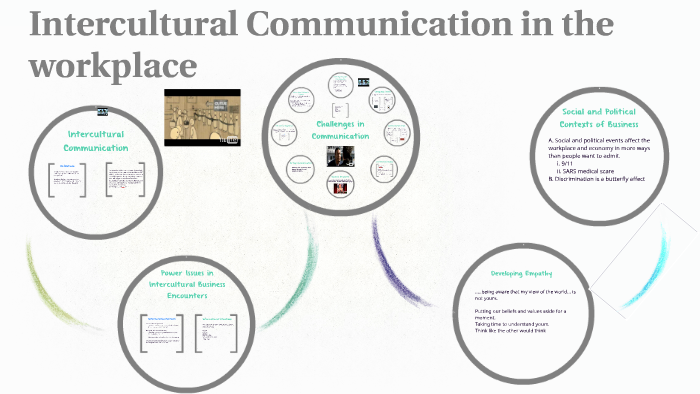 Intercultural Communication in the workplace by Napat
