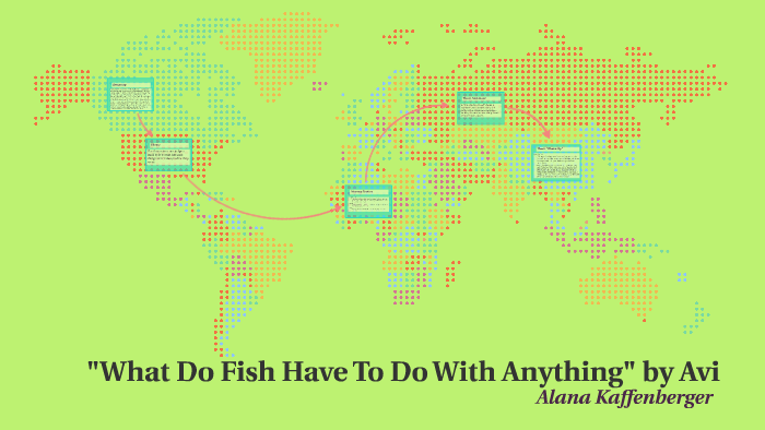What Do Fish Have To Do With Anything By Avi By Alana Kaffenberger