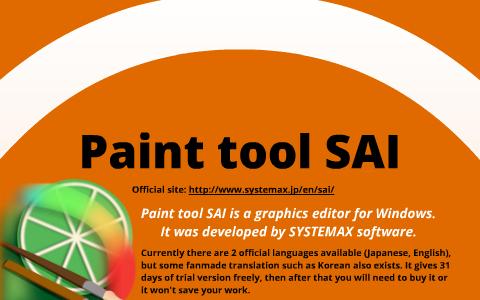 easy paint tool sai no trial