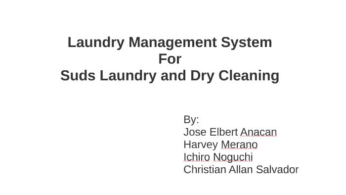 Laundry Management System by Ichiro Noguchi on Prezi
