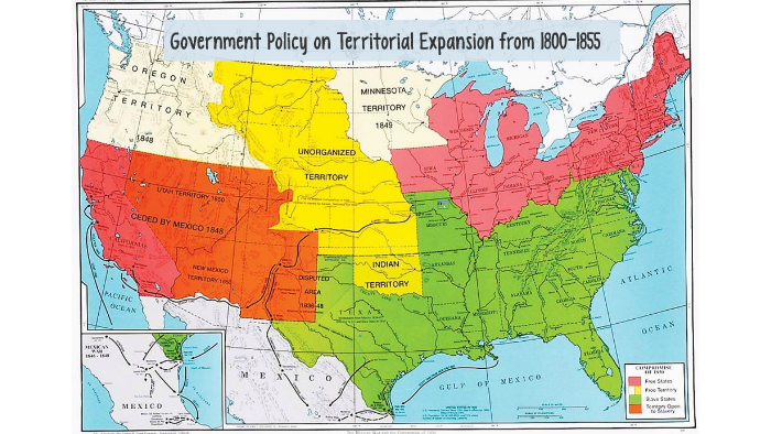 Government Policy on Territorial expansion from 1800-1855 by ...