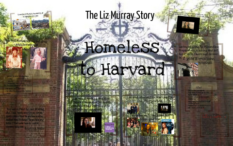 homeless to harvard character analysis