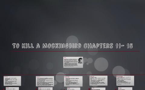 to kill a mockingbird chapter 11 15 summary