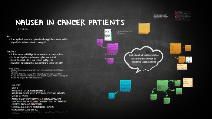 NAUSEA IN CANCER PATIENTS by Emily Harding on Prezi