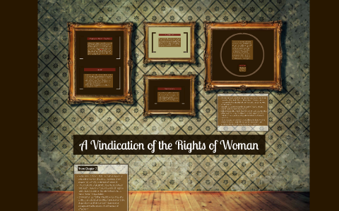 a vindication of the rights of women questions