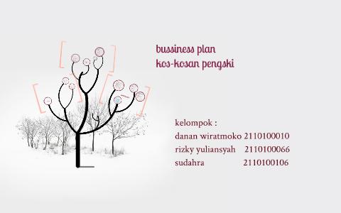 proposal business plan kos kosan