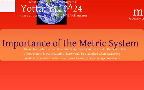 Ways To Learn The Metric System Prefixes By Emily Burke On Prezi