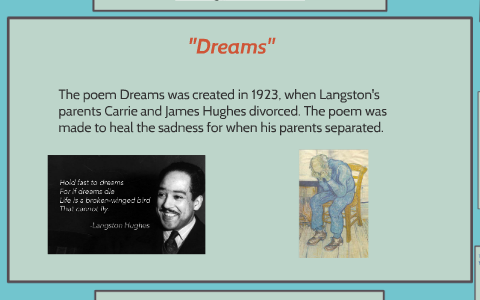 what does dreams by langston hughes mean