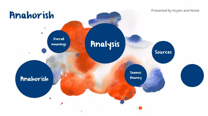 anahorish analysis