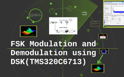 FSK Modulation and Demodulation using DSK(TMS320C6713) by