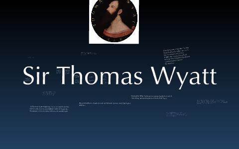 sir thomas wyatt farewell love