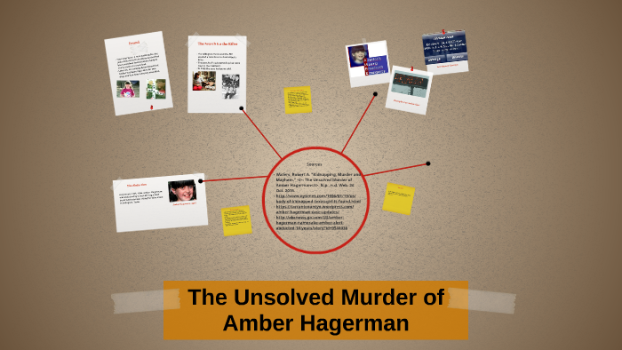 The Unsolved Murder of Amber Hagerman by Jasmine Cajigas on Prezi