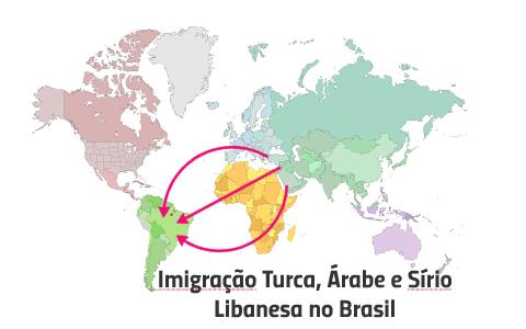 Imigração Turca, Árabe e Sírio Libanesa no Brasil by André ...