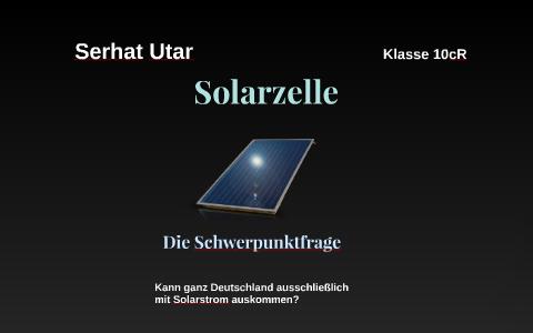 Solarzelle By Ferhat Utar On Prezi