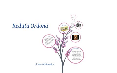 Copy Of Reduta Ordona By łukasz Kurowski On Prezi