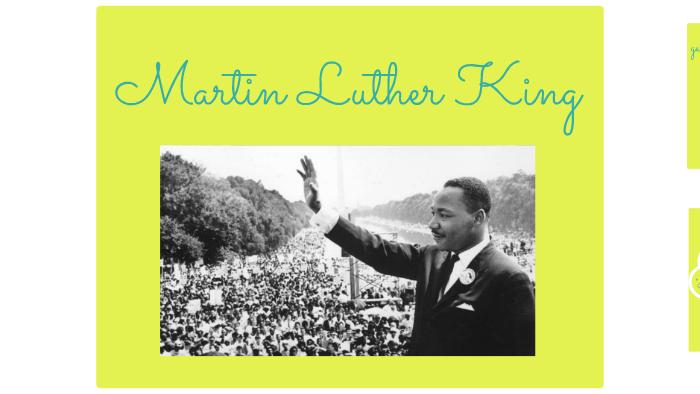 Martin Luther King By Fleur Stalmans On Prezi