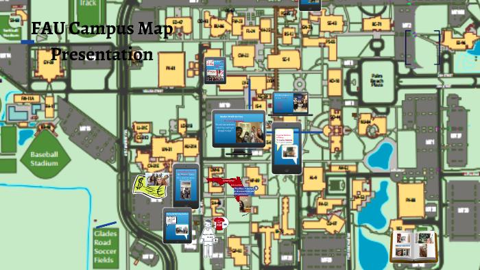 Campus Map Fau.Fau Campus Map By Victoria Fernandez On Prezi