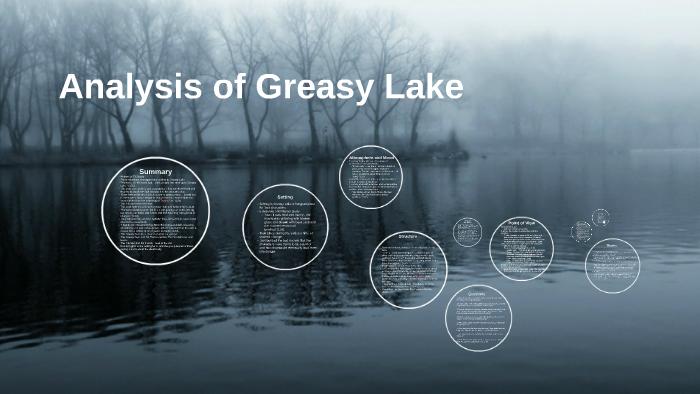 greasy lake short story summary