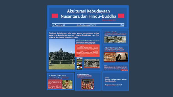 X 20 Akulturasi Kebudayaan Nusantara Dan Hindu Buddha By Denny