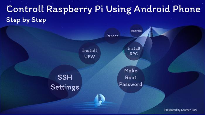 Controlling Raspberry Pi by Android Phone by László Gereben on Prezi