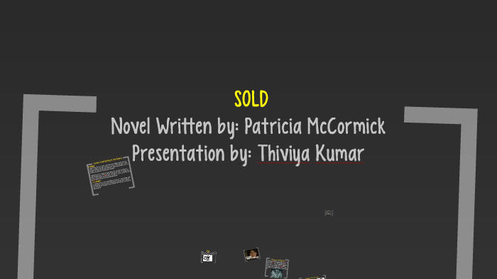 sold by patricia mccormick characters