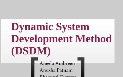 dsdm advantages and disadvantages