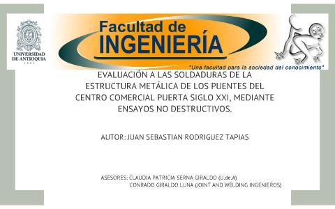 Evaluación De La Estructura Metálica De Los Puentes Del