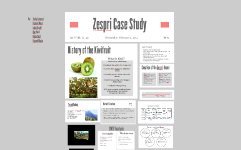 zespri case study solution