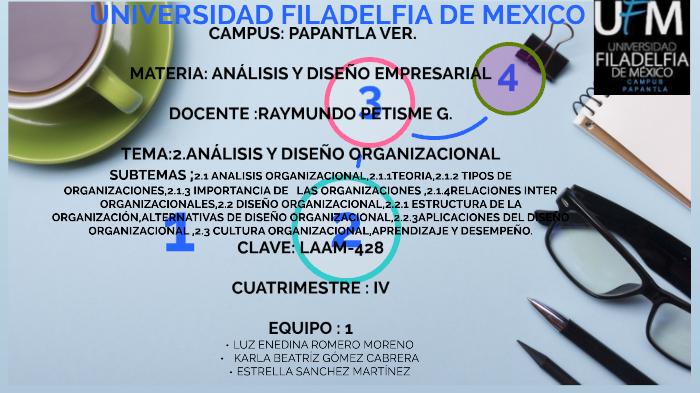 Analisis Y Diseño Organizacional By Karla Gomez Cabrera On