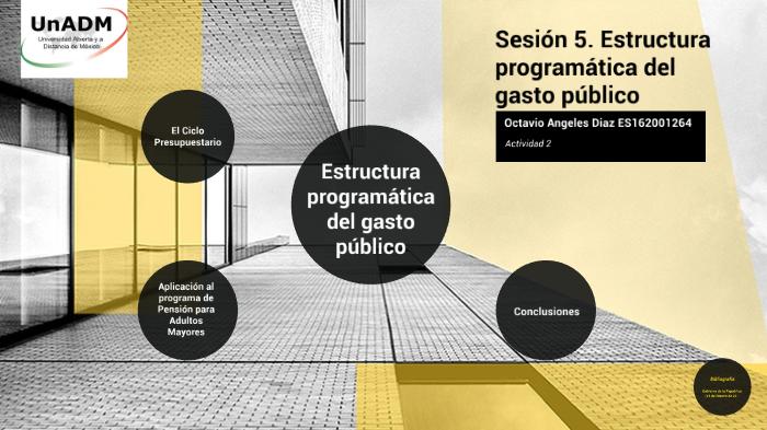 Estructura Programática Del Gasto Público By Octavio Angeles