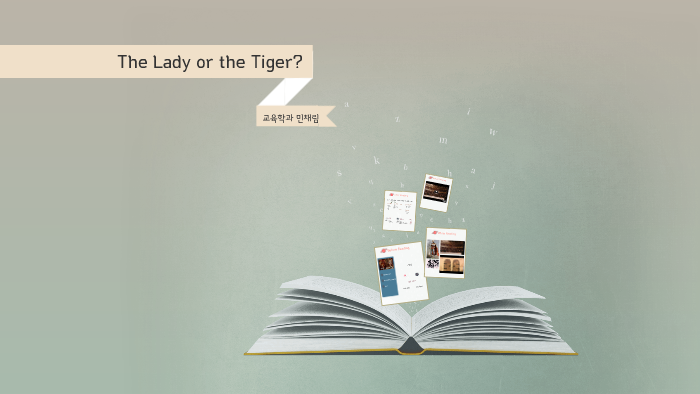 irony in the lady or the tiger