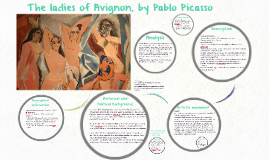 The Ladies Of Avignon By Pablo Picasso By Mairy Garza