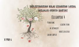 Melestarikan Nilai Kearifan Lokal Melalui Cerita Rakyat By Muhammad Reynaldy Trianugrah