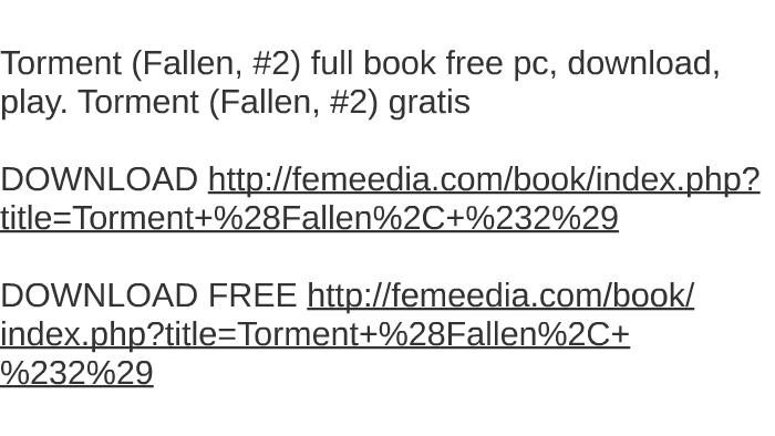 Torment audiobook free | torment ( download audio books free ): audi….