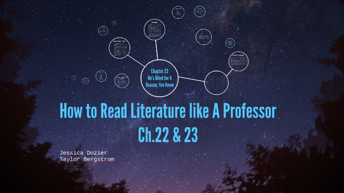 how to read literature like a professor chapter 22
