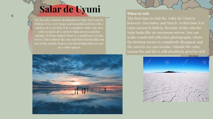 Salar De Uyuni By Willem Van Wijngaarden On Prezi Next