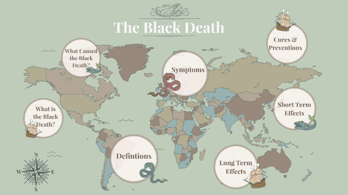 long term effects of black death